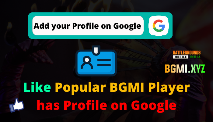 Add your Profile on Google